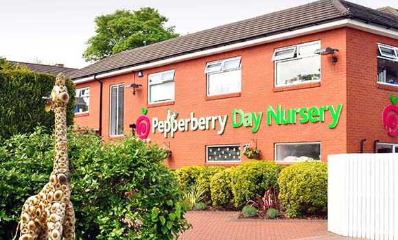 Day Nursery Wilmslow Alderley Edge Childrens Cheshire Pepperberry Nurseries